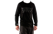 Mons Royale Men Slim Jim Long Sleeve black monsday